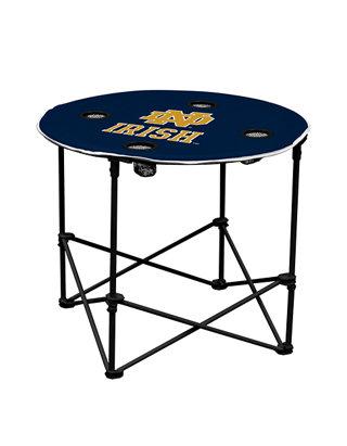 Navy Logo Brands NCAA Notre Dame Fighting Irish Quad Chair