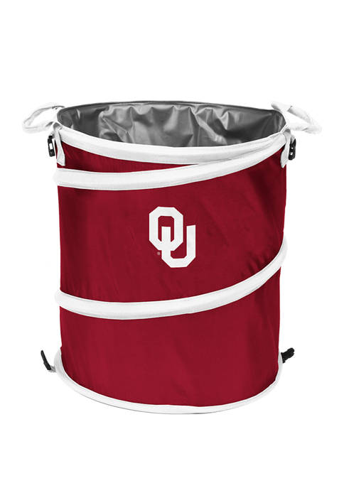 Logo NCAA Oklahoma Sooners Collapsible 3-in-1 Cooler
