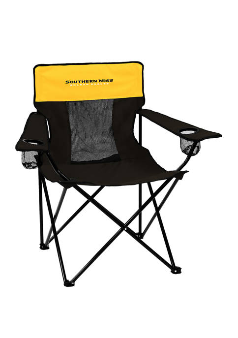 Logo NCAA Southern Miss Golden Eagles Elite Chair