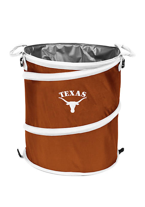 Logo NCAA Texas Longhorns Collapsible 3-in-1 Cooler Hamper
