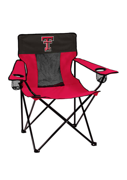 Logo NCAA Texas Tech Red Raiders Elite Chair