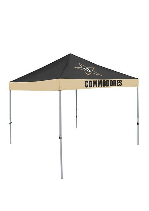 NCAA Vanderbilt Commodores 9 ft x 9 ft Economy Tent