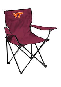 Logo NCAA Virginia Tech Hokies Quad Chair