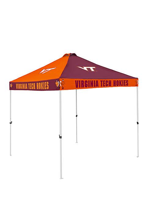 NCAA Virginia Tech Hokies 9 Foot x 9 Foot Checkerboard Tent
