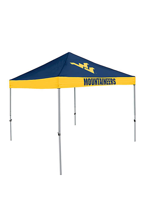 NCAA West Virginia Mountaineers 9 inch x 9 inch Economy Tent