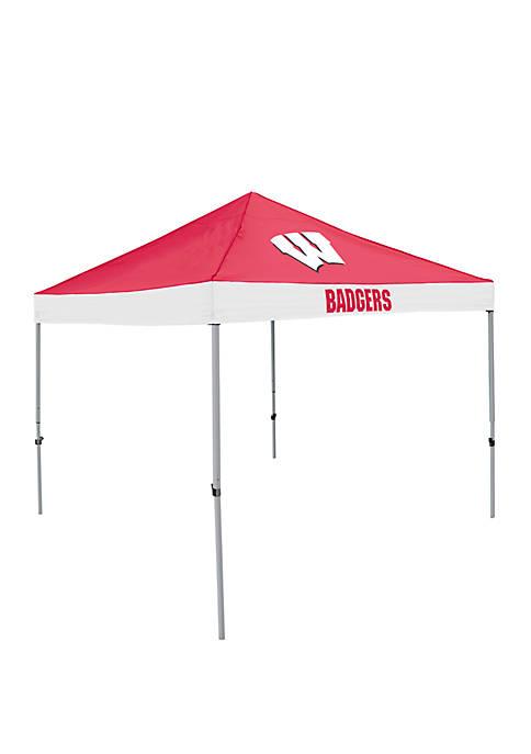 NCAA Wisconsin Badgers 9 ft x 9 ft Economy Tent