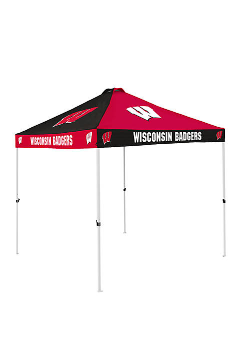 NCAA Wisconsin Badgers 9 ft x 9 ft Checkerboard Tent