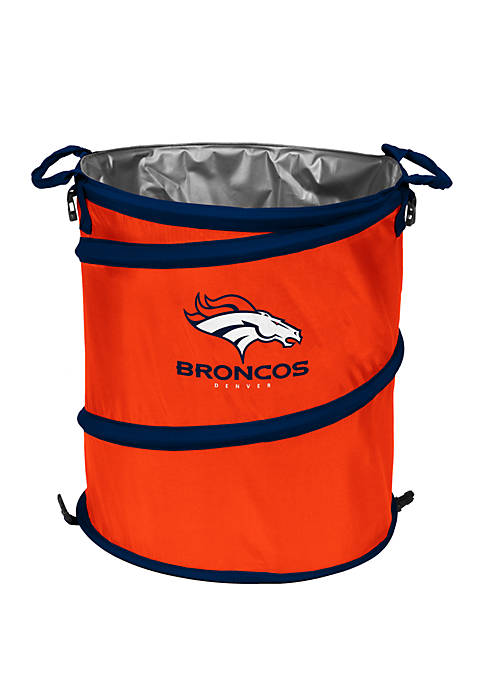 Logo NFL Denver Broncos Collapsible 3-in-1 Cooler Hamper