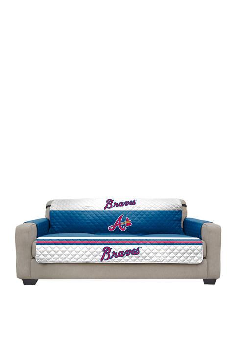 Pegasus Sports MLB Atlanta Braves Sofa Furniture Protector