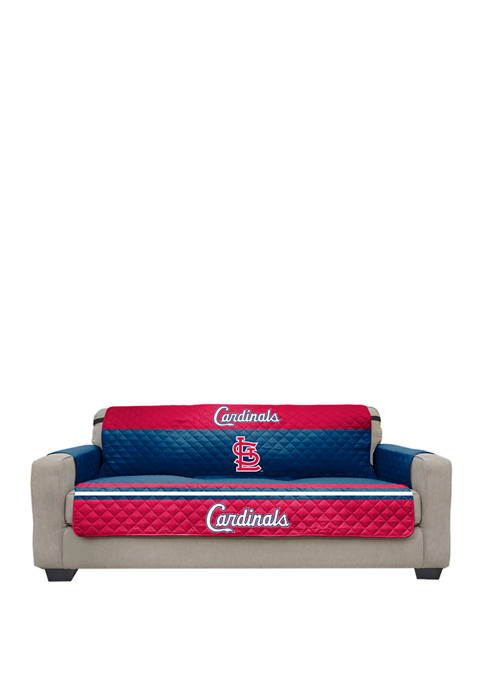 MLB St. Louis Cardinals Sofa Furniture Protector with Elastic Straps
