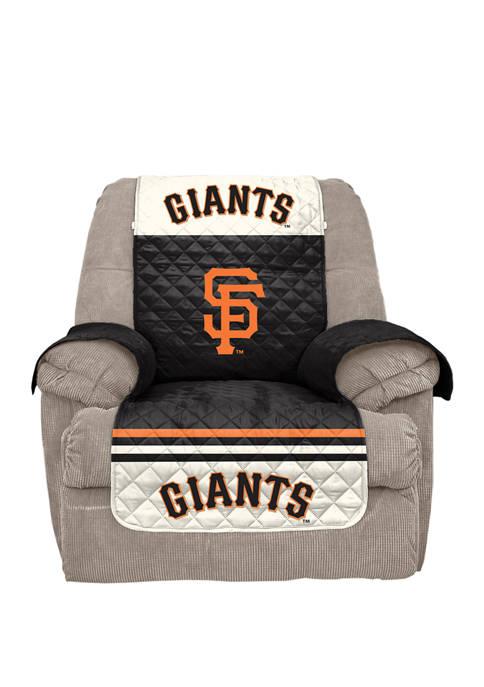 MLB San Francisco Giants Sofa Furniture Protector with Elastic Straps