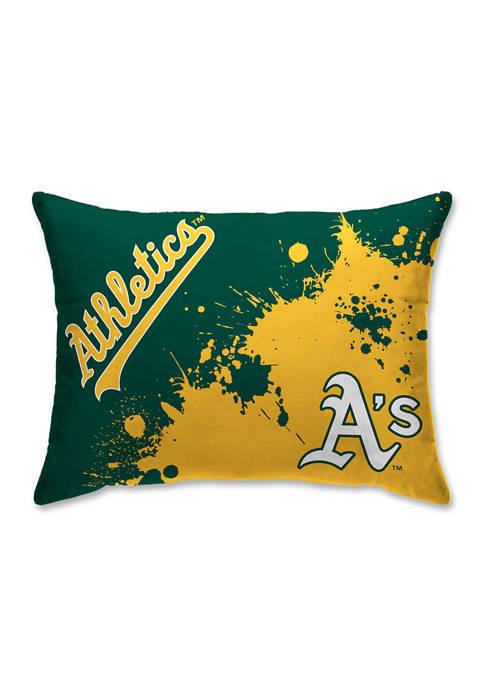 Pegasus Sports MLB Oakland Athletics Splatter 20 in