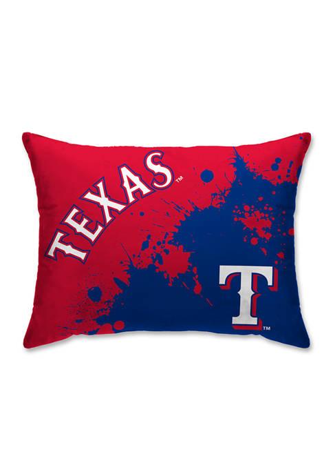 Pegasus Sports MLB Texas Rangers Splatter 20 in