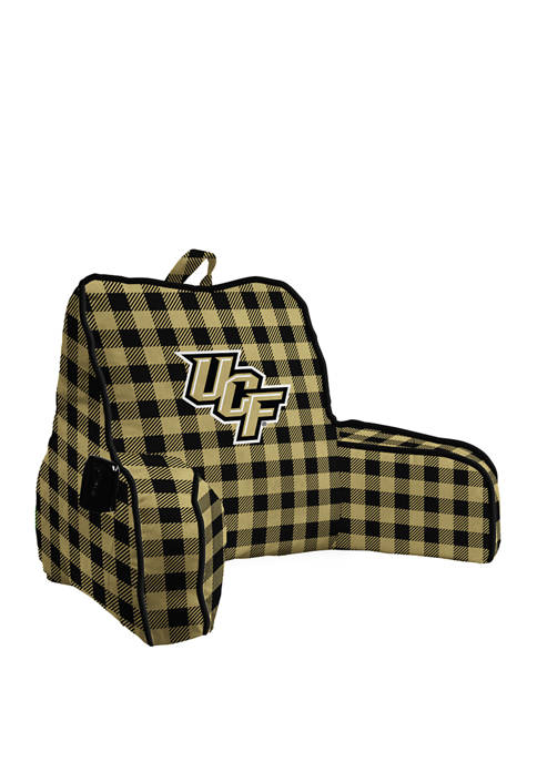 NCAA Central Florida Knights Buffalo Check Back Rest with Cording and Side Pocket