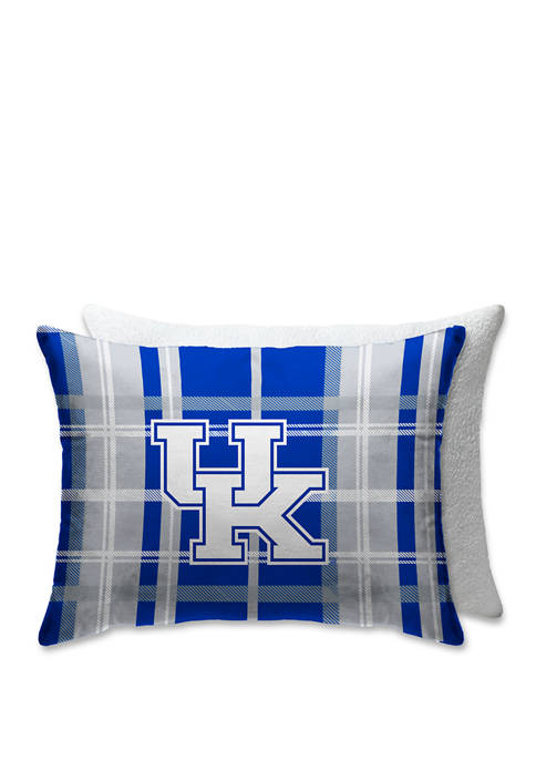 Pegasus Sports NCAA Kentucky Wildcats Plaid 20 in