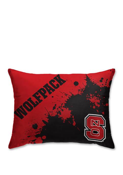 Pegasus Sports NCAA NC State Wolfpack Splatter 20