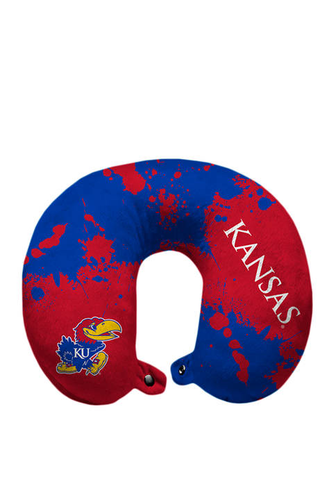 Pegasus Sports NCAA Kansas Jayhawks Splatter Print Travel