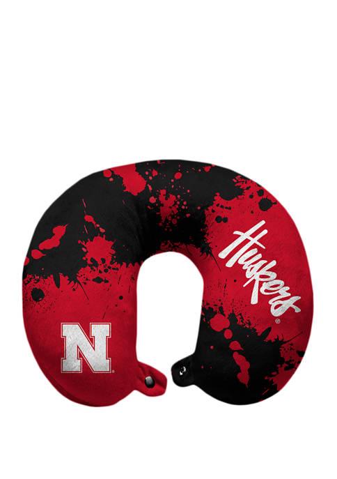 Pegasus Sports NCAA Nebraska Cornhuskers Splatter Print Travel