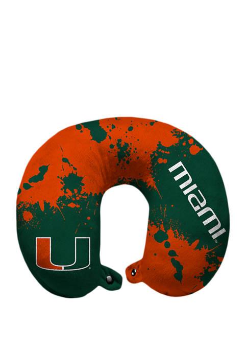 Pegasus Sports NCAA Miami (FL) Hurricanes Splatter Print