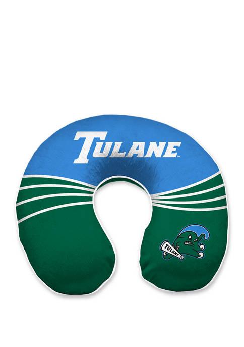NCAA Tulane Green  Wave Memory Foam U-Neck Travel Pillow