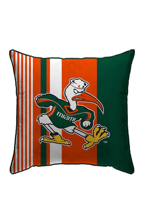 Pegasus Sports NCAA Miami Hurricanes Variegated Stripe 18