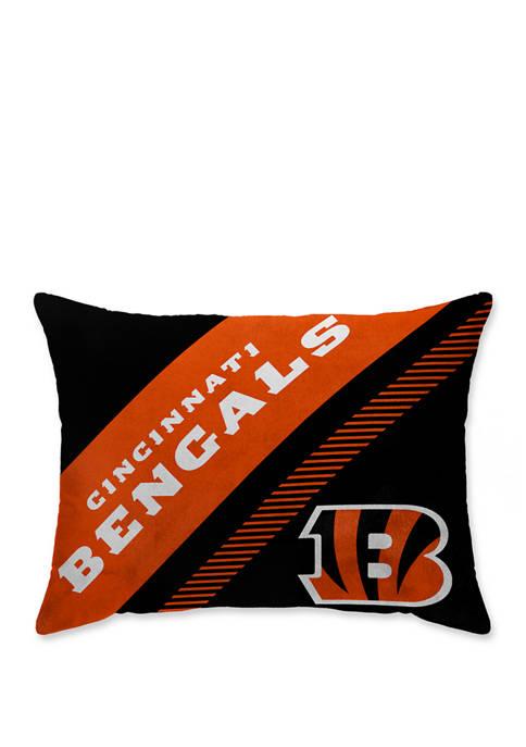 Pegasus Sports NFL Cincinnati Bengals Diagonal Microplush 20