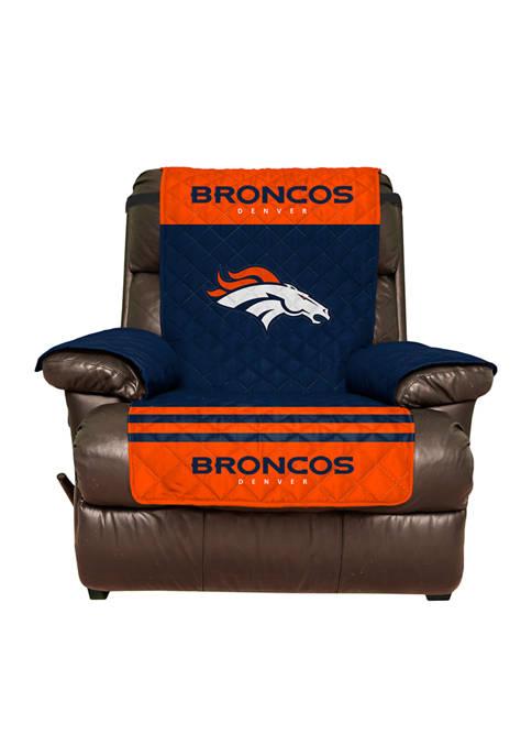 Pegasus Sports NFL Denver Broncos Recliner Furniture Protector