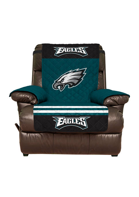 NFL Philadelphia Eagles Recliner Furniture Protector with Elastic Straps
