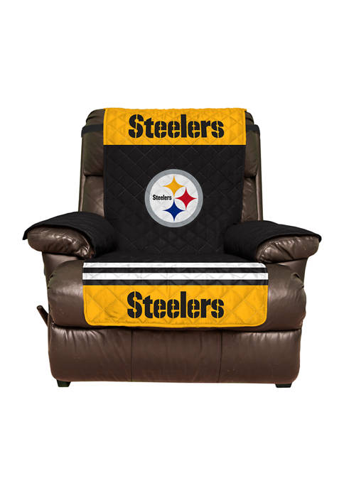 NFL Pittsburgh Steelers Recliner Furniture Protector with Elastic Straps