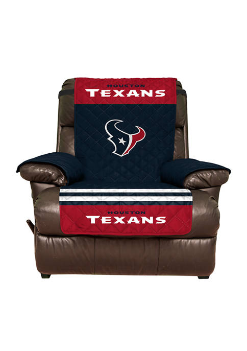 NFL Houston Texans Recliner Furniture Protector with Elastic Straps