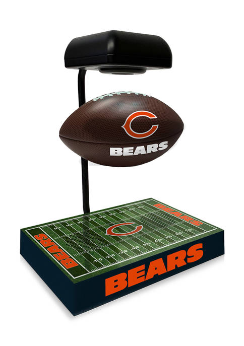 NFL Chicago Bears Hover Football With Field Base, Bluetooth Speaker