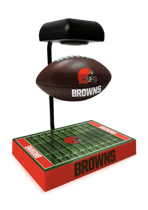 NFL Cleveland Browns Hover Football With Field Base, Bluetooth Speaker