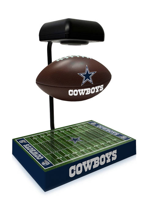 NFL Dallas Cowboys Hover Football With Field Base, Bluetooth Speaker