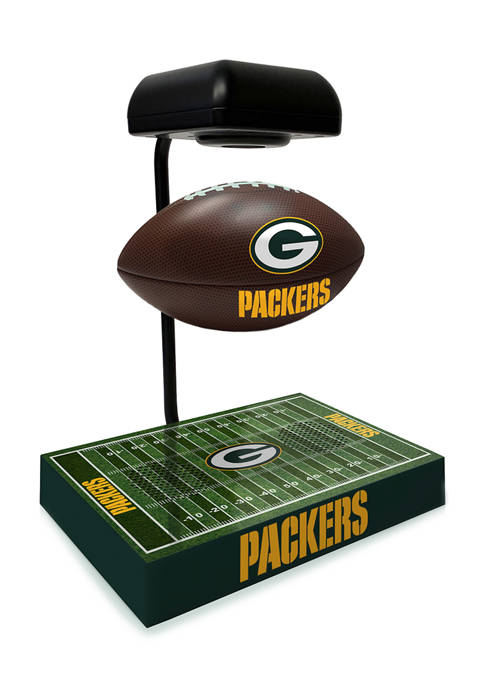 NFL Green Bay Packers Hover Football With Field Base, Bluetooth Speaker