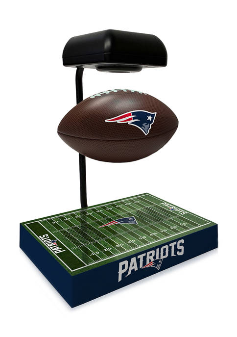 NFL New England Patriots Hover Football With Field Base, Bluetooth Speaker
