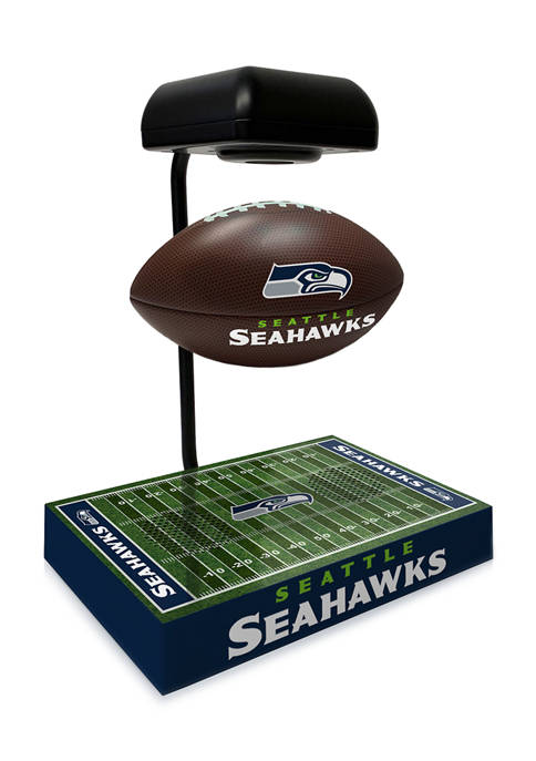 NFL Seattle Seahawks Hover Football With Field Base, Bluetooth Speaker