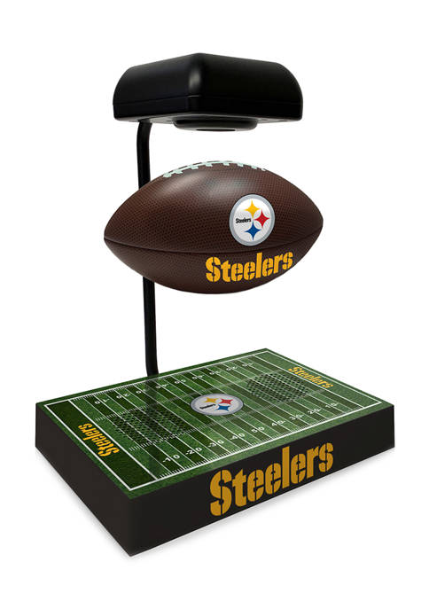 NFL Pittsburgh Steelers Hover Football With Field Base, Bluetooth Speaker