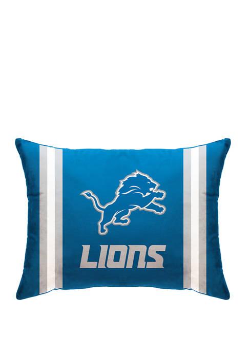 Pegasus Sports NFL Detroit Lions Microplush Standard Logo