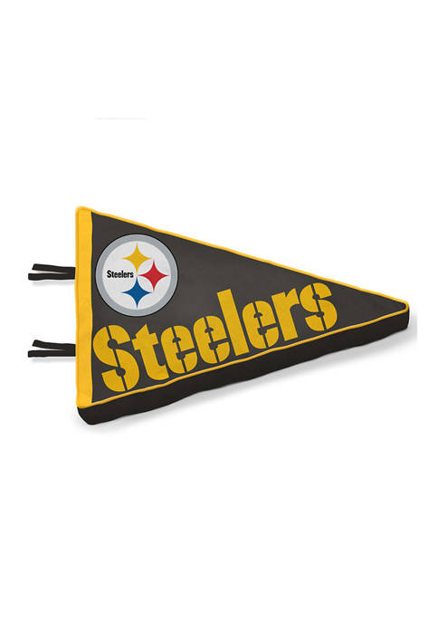 NFL Pittsburgh Steelers Plushlete Team Pennant Pillow