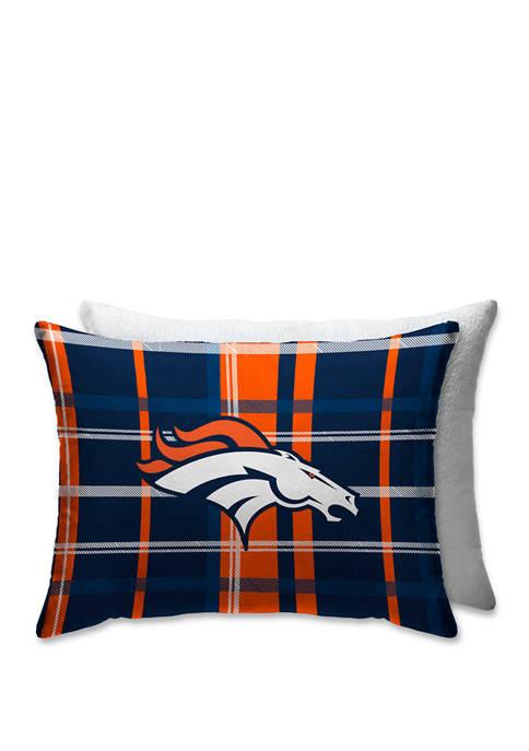 Pegasus Sports NFL Denver Broncos Plaid 20 in