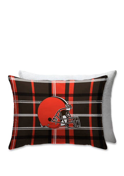 Pegasus Sports NFL Cleveland Browns Plaid 20 in