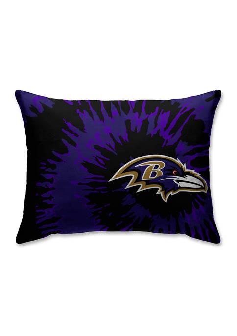 Pegasus Sports NFL Baltimore Ravens Tie Dye Microplush