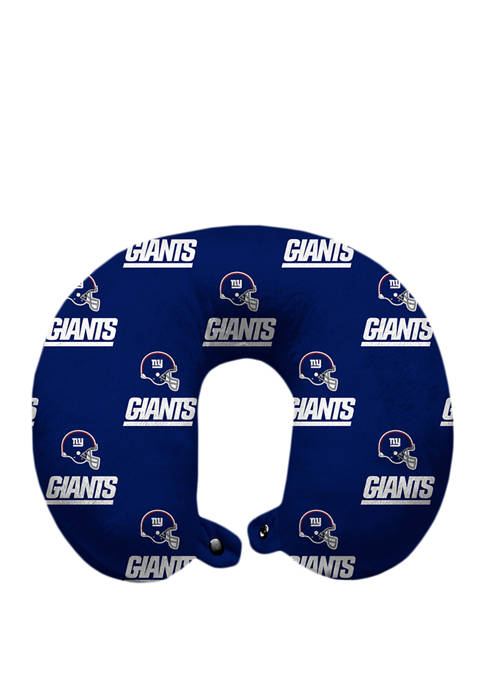 NFL New York Giants Repeat Print Travel Pillow
