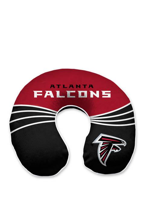 NFL Atlanta Falcons Wave Memory Foam U Neck Travel Pillow