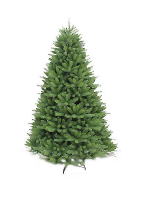 7.5 Foot Unlit Davidson Fir Premier Artificial Christmas Tree