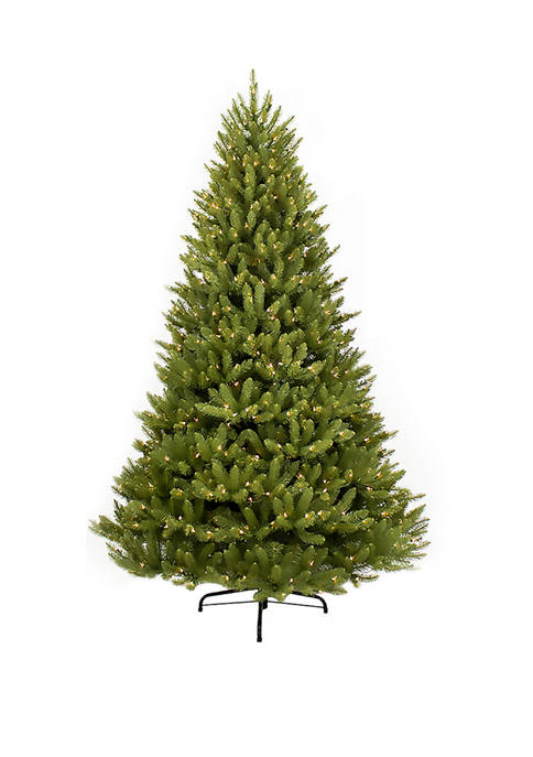 Puleo International 12 Foot Pre Lit Franklin Fir