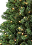 9 Foot Pre Lit  Noble Fir Artificial Christmas Tree with 800 Clear UL Listed Lights