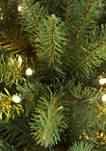 Pre-Lit Downswept Valley Fir Christmas Tree