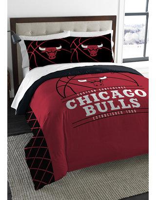 NBA Chicago Bulls Reverse Slam Comforter Set