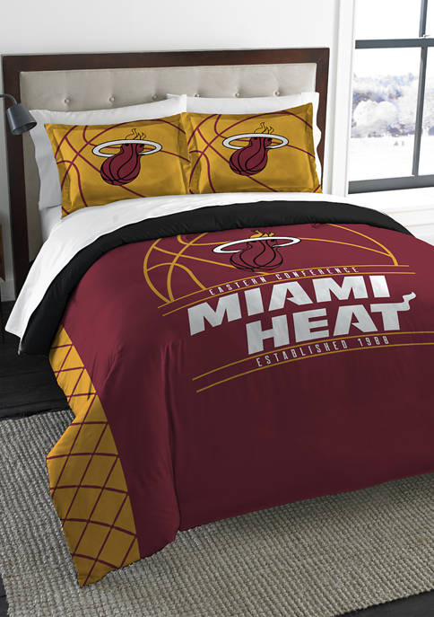 NBA Miami Heat Reverse Slam Comforter Set